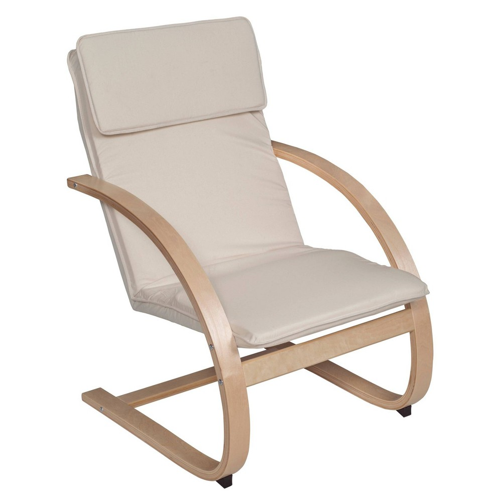 Brilliant Akita Bentwood Reclining Chair Naturalbeige Niche Caraccident5 Cool Chair Designs And Ideas Caraccident5Info