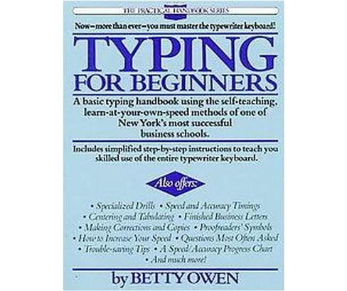 Typing for Beginners (Paperback) (Betty Owen) - image 1 of 1