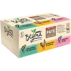 Purina Beyond Grain Free, Natural Pate Wet Cat Food, Grain Free Pate Variety Pack - 6ct