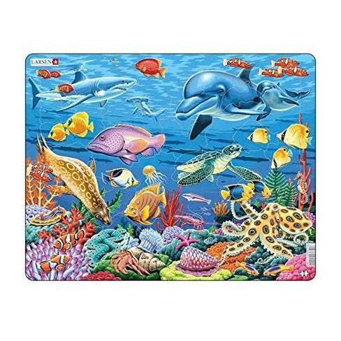 Springbok Larsen Coral Reef Children's Jigsaw Puzzle 35pc - image 1 of 2