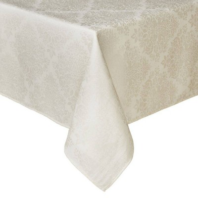 """60""""X120"""" Lexington Tablecloth White - Town & Country Living"""