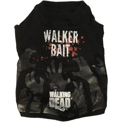"Crowded Coop The Walking Dead ""Walker Bait"" Dog Shirt"