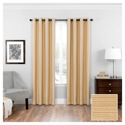 Bryson Thermaweave Blackout Curtain Panel - Eclipse
