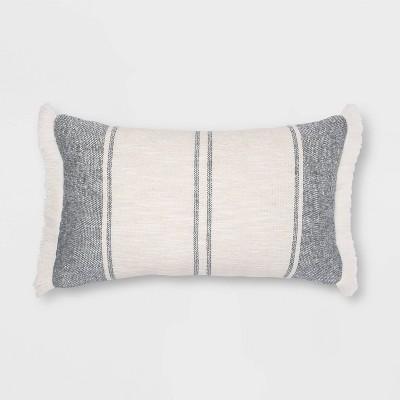 Woven Striped Throw Pillow - Threshold™