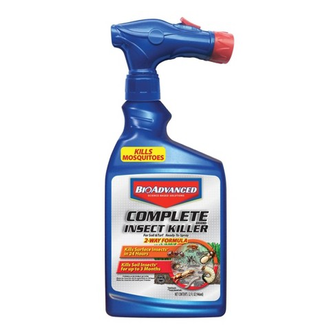 32oz Complete Insect Killer Ready to Spray Hose End - BioAdvanced - image 1 of 4