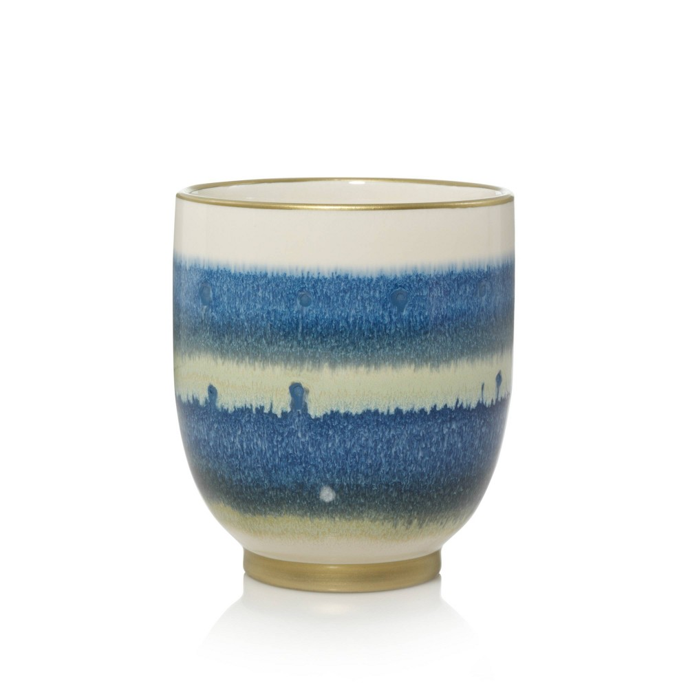 Image of 10oz Ceramic Jar Candle Smoked Vanilla - Nature's Wick