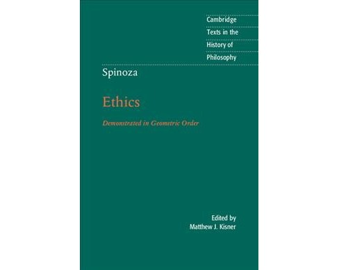 Ethics Proved in Geometrical Order -  by Benedictus de Spinoza (Hardcover) - image 1 of 1