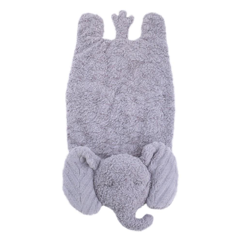 Image of NoJo Cuddle Me Luxury Plush Mat Elephant