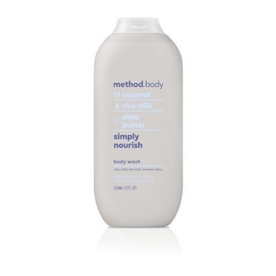 Method Body Wash Simply Nourish - 18 fl oz