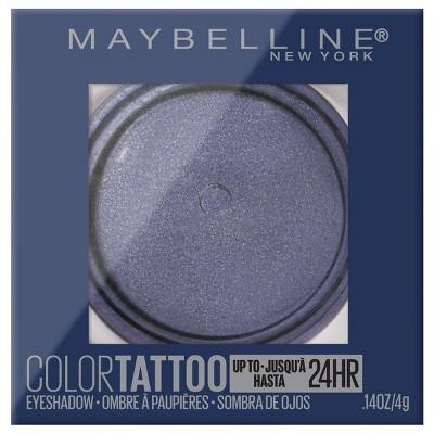 Maybelline Color Tattoo Up To 24 Hr Longwear Cream Eyeshadow Makeup   0.14oz by 0.14oz