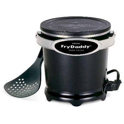 Presto FryDatty 1qt Electric Deep Fryer