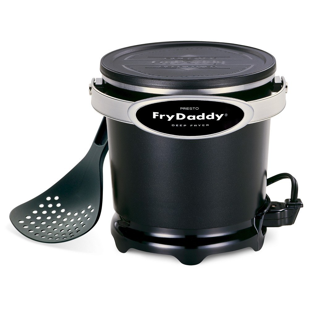 Presto FryDaddy 1qt Electric Deep Fryer, Silver 595674