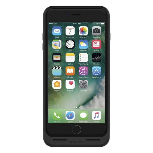 new style 85a51 61ae6 Mophie iPhone 8 Plus/7 Plus Rechargeable Case Juice Pack Air - Black