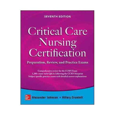 Critical Care Nursing Certification : Preparation, Review, and ...