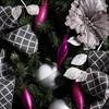 """8ct Vickerman 5.5"""" 4 Finish Drop Ornament Fuchsia - image 3 of 3"""