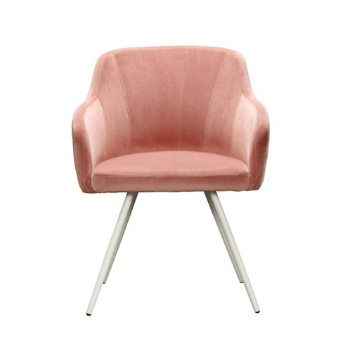 Anda Norr Occasional Chair Salmon Pink - Sauder - image 1 of 4