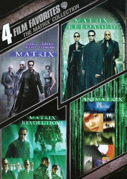 The Matrix Collection: 4 Film Favorites [WS] [2 Discs] - image 1 of 1