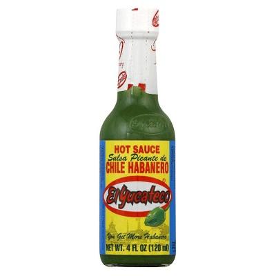 El Yucateco Green Chile Habanero Hot Sauce 4oz