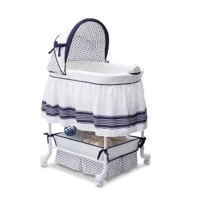 Delta Children Smooth Glide Bassinet - Marina