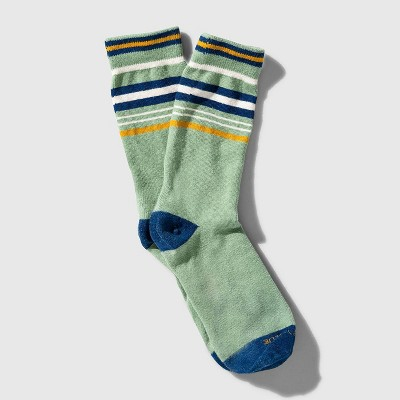 United By Blue Organic Striped Crew Socks