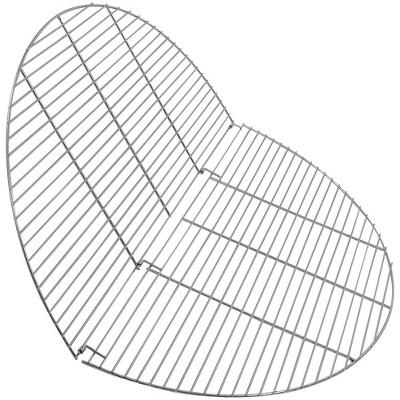 "Folding Chrome Cooking Grate 40"" - Round - Sunnydaze Decor"