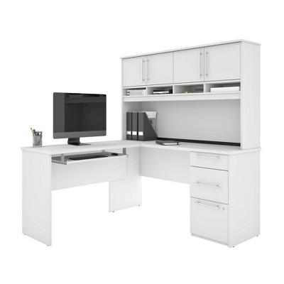 Innova Plus L Shaped Desk - Besta