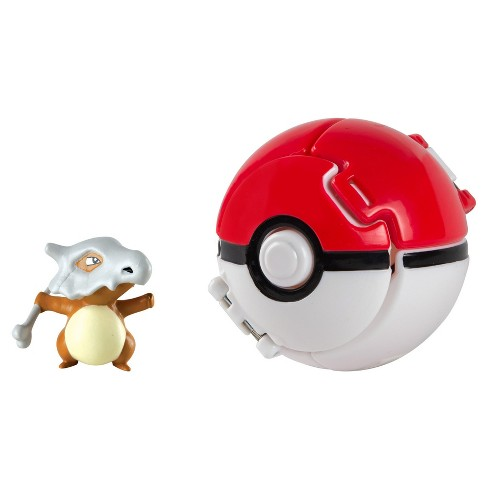 Pokemon Throw 'N' Pop Cubone and Pok Ball - image 1 of 3
