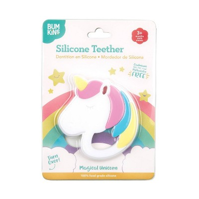 Bumkins Silicone Teether Unicorn