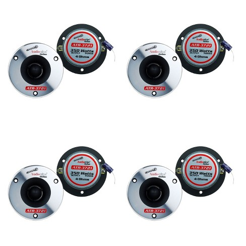 """(2) Audiopipe ATR-3721 3.75"""" 350W Pro Car Audio Bullet Tweeters ATR3731 (4 Pack) - image 1 of 2"""