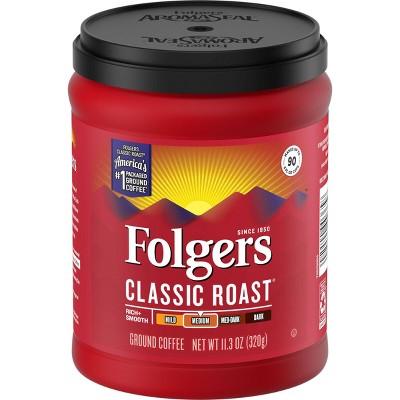 Folgers Classic Medium Roast Ground Coffee - 11.3oz