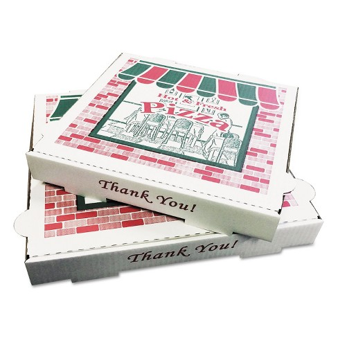 GENERAL SUPPLY Takeout Containers 12in Pizza White 12w x 12d x 1 3/4h 50/Bundle PZCORE12 - image 1 of 1