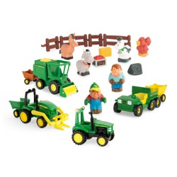 John Deere 1st Farming Fun – Fun on the Farm Play Set
