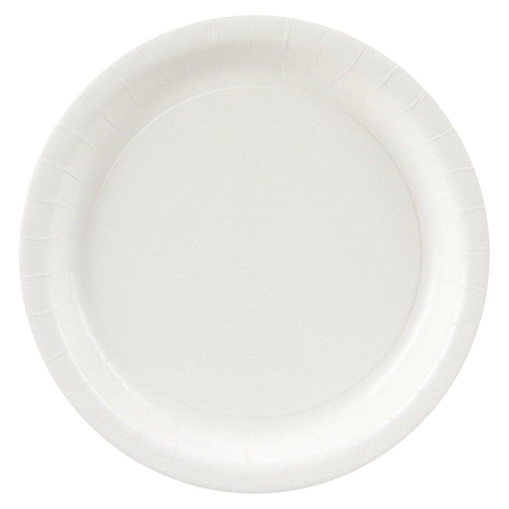 24ct White Dinner Plate, Disposable Dinnerware