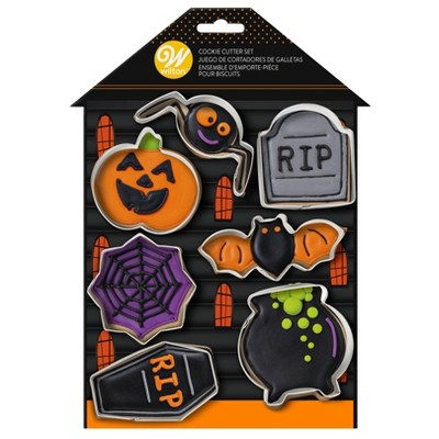 Wilton 7pc Metal Haunted House Cookie Cutters