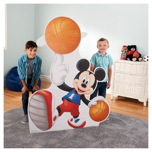 Mickey Mouse Basketball Stand-Up - image 1 of 1
