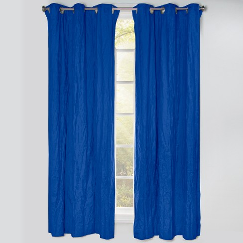 """50""""x84"""" Blackout Grommet Curtain Panels Blue Berry - Crayola - image 1 of 1"""