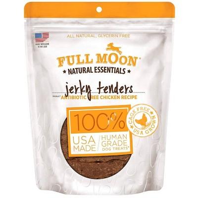 Full Moon Essentials Chicken Tenders Jerky Dog Treats - 16oz