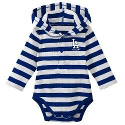 MLB Los Angeles Dodgers Boys' Hooded Bodysuit