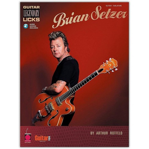 Cherry Lane Brian Setzer - Guitar Legendary Licks (Book/Online Audio) - image 1 of 1