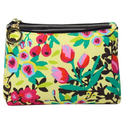 Contents Garden Party Double Zip Purse Kit Cosmetic Bag - image 1 of 3