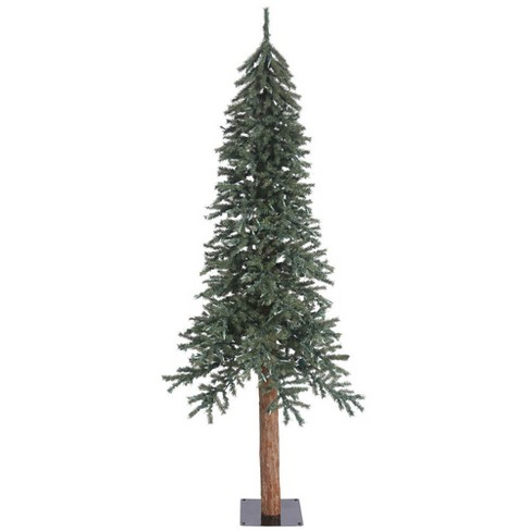 7ft Unlit Artificial Christmas Tree Natural Bark Alpine - image 1 of 2