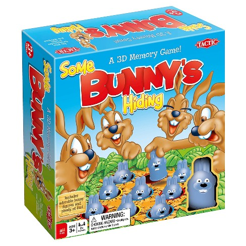 Tactic Some Bunny's Hiding Board Game - image 1 of 4