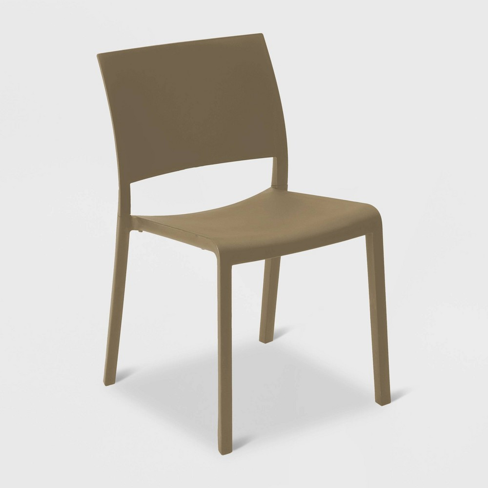 Image of Fiona 2pk Patio Chair - Warm Gray - RESOL