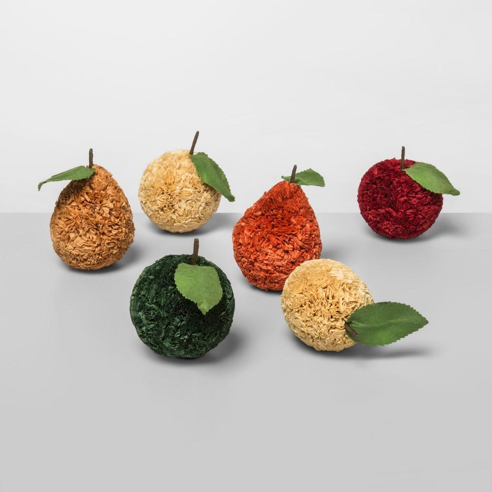 Unscented Raffia Fiber Fruits Vase Filler - Opalhouse, Multi-Colored