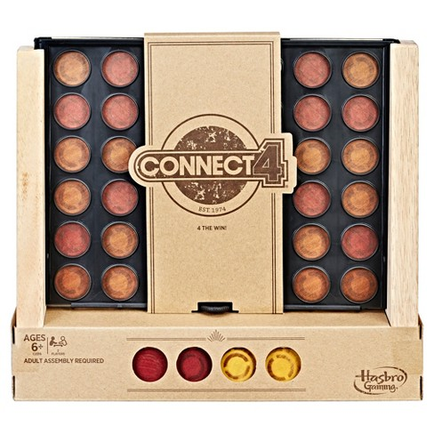 Connect 4 - Rustic Series Board Game - image 1 of 10