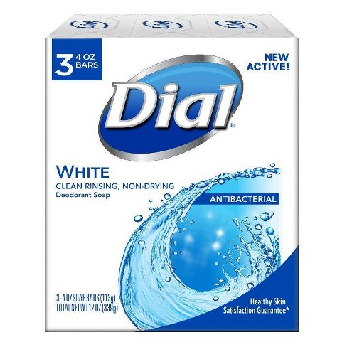 Dial White Bar Soap - 3ct - image 1 of 1