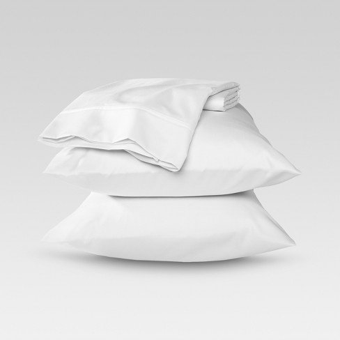 Performance Sheet Set California King White 400 Thread Count
