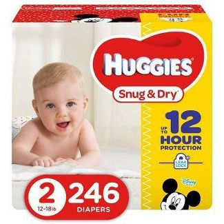 Huggies Snug & Dry Diapers - Size 2 (228ct)