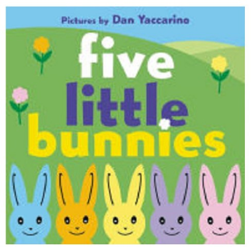 Five Little Bunnies (Board) - image 1 of 1