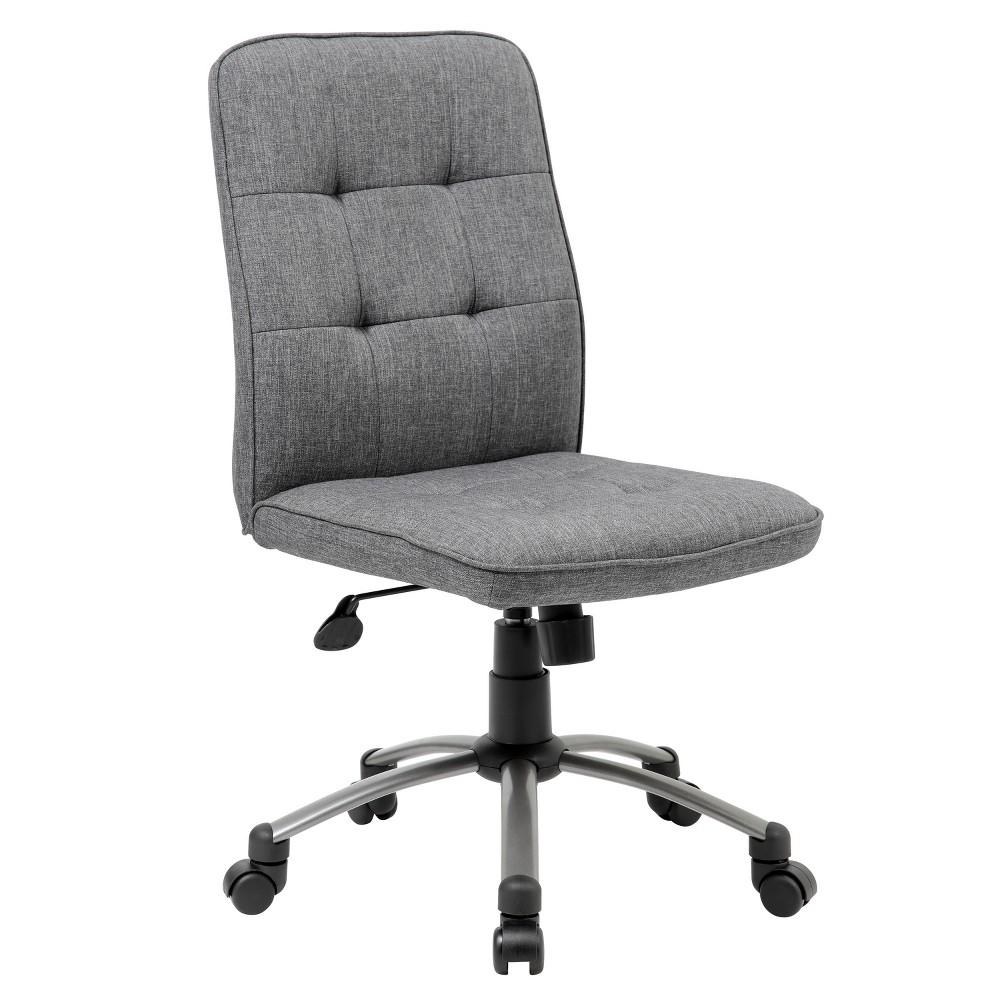 Modern Office Task Chair - Slate Gray - Boss